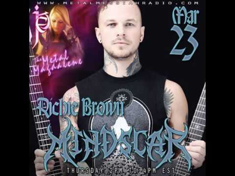 Richie Brown of Mindscar interview on The Metal Magdalene w Jet