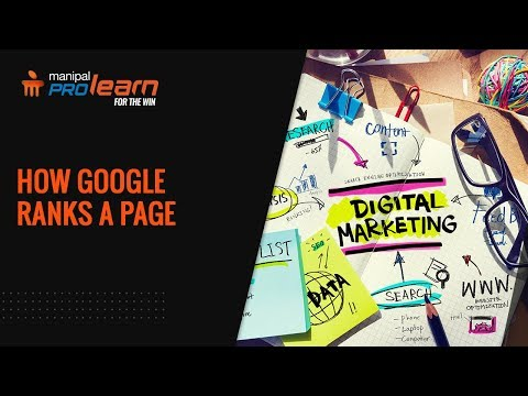 How Google Ranks a Page |  SEO Tutorial | Page Ranking | How to rank in Google | Manipal ProLearn thumbnail