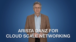 Arista DANZ for Cloud Scale Networking