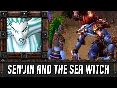 Warcraft 3 Story ► Sen'jin's Death & The Sea Witch (Riders on the Storm Ending)
