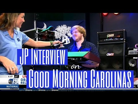 Oracle Blue | WPDE ABC15 Interview | JP Taylor