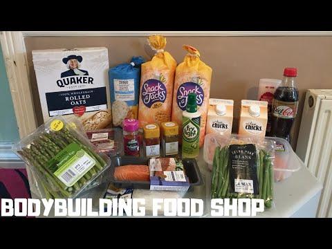Full Bodybuilding Food Shop On A Budget + Gym Connoisseur (Definition Gym) EP1