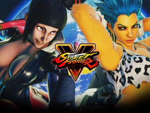 UNCENSORED JURI, BLANKA LAURA? Let The Mods, BEGIN! Street Fighter 5 Online Matches