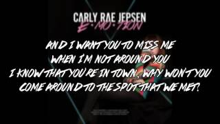 Carly Rae Jepsen Your Type Lyrics