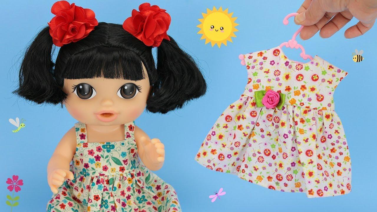 Vestiditos para muñecas  • Colección de muñecas Baby Alive • Colegio de Juguetes