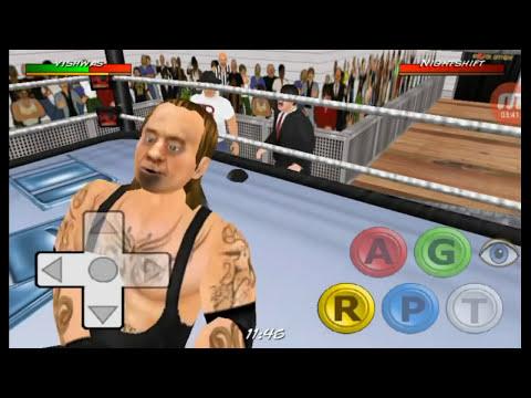 WWE -  Wrestling Revolution 3D #LADDERS Match #2017 Vishwas (ME) vs undertaker (IN HINDI)