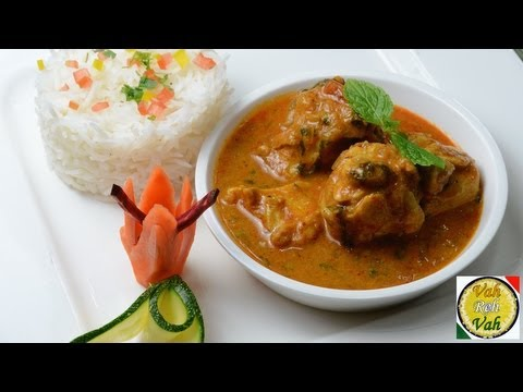 Easy Chicken Curry With Onion Tomato Gravy - By VahChef @ VahRehVah.com