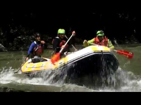 Natură și aventură - Rafting pe Jiu