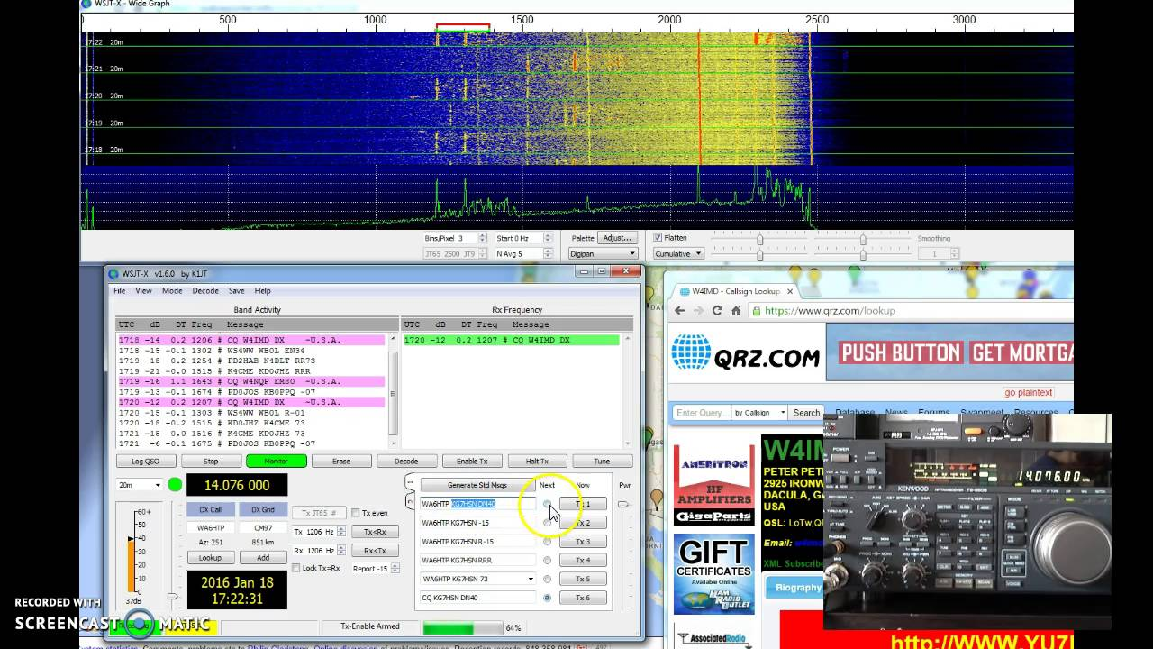 An Introduction to WSJT-X Presentation Notes – Jeff McGrath