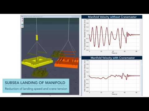 Subsea landing | With and without Cranemaster