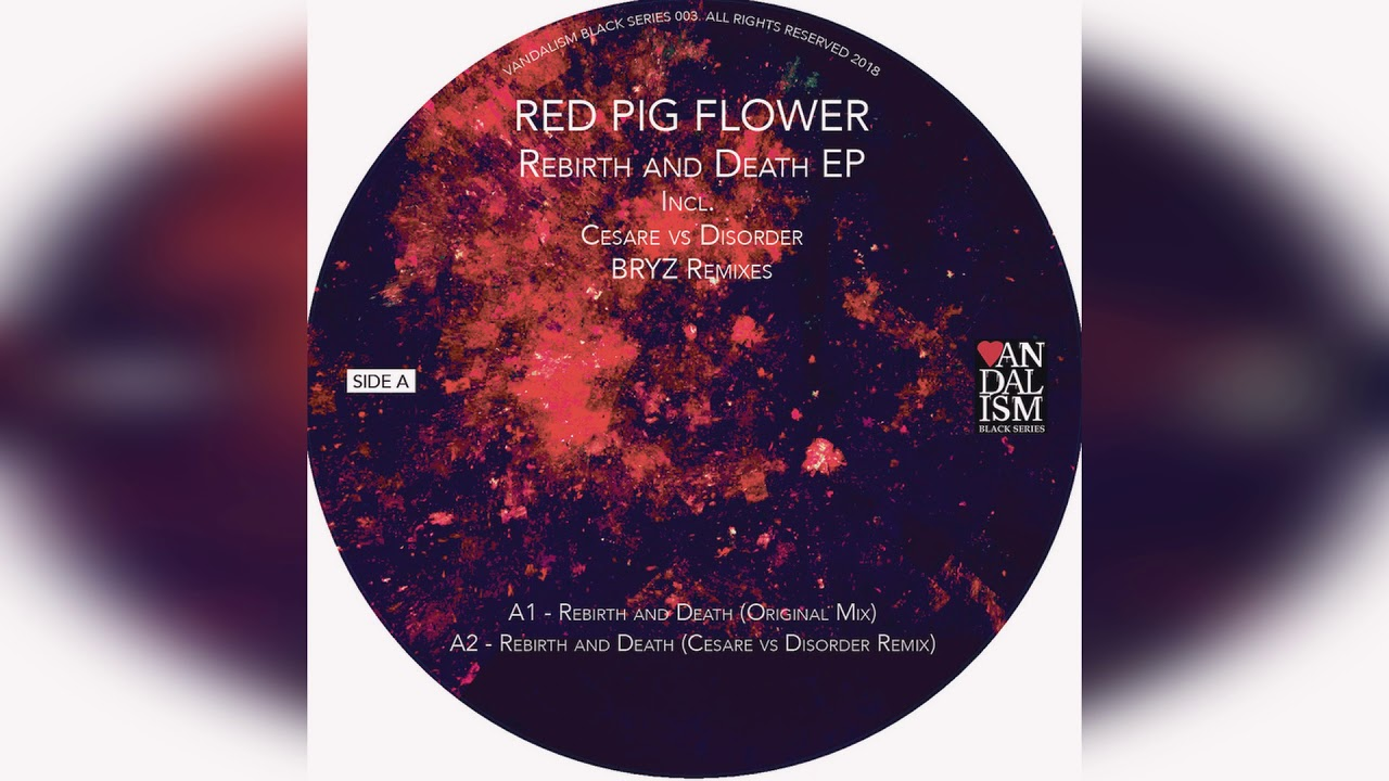 Red Pig Flower Rebirth And Death Cesare Vs Disorder Remix