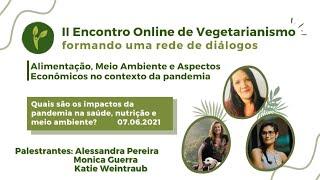 Abertura : II Encontro Online  - 07/06/21