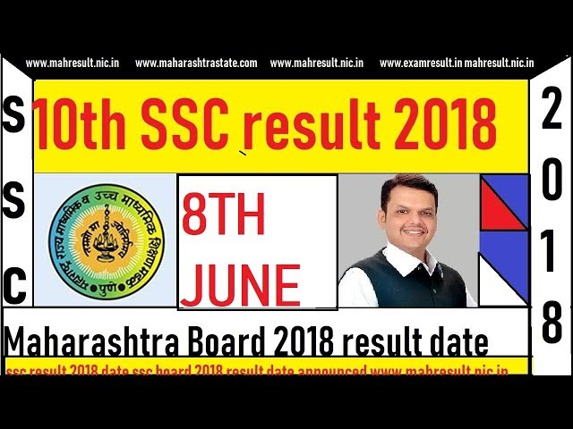 10th SSC result 2018 Maharashtra Board Date DECLARED