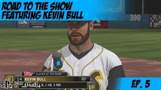MLB 14: The Show on PS4 - RTTS with Kevin Bull - How to get moved up Ep. 5