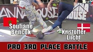 Soufiane Bencok vs Kristoffer Liicht | 3rd Place Battle, Pannahouse Invitationals 2017