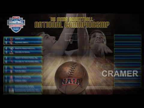NAIA Division II Men's Basketball National Championship Selection Show