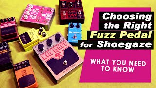 FUZZ & DISTORTION Shootout | The Best Pedals for SHOEGAZE & NOISE POP