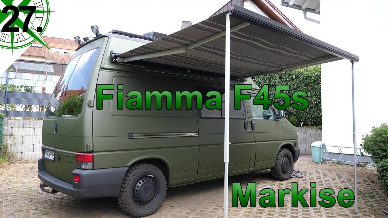innenausbau markise fiamma f45s vom vw t4 syncro. Black Bedroom Furniture Sets. Home Design Ideas
