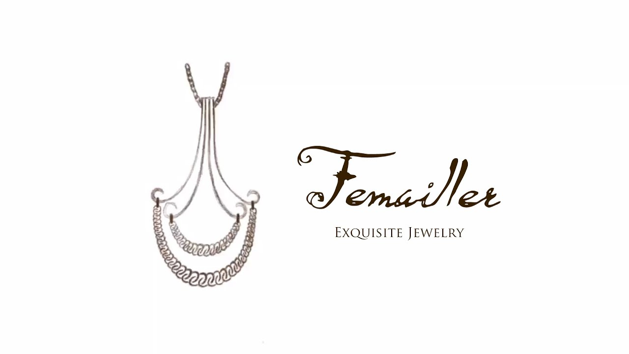 Jewelry Design Sketch by Femailler - YouTube