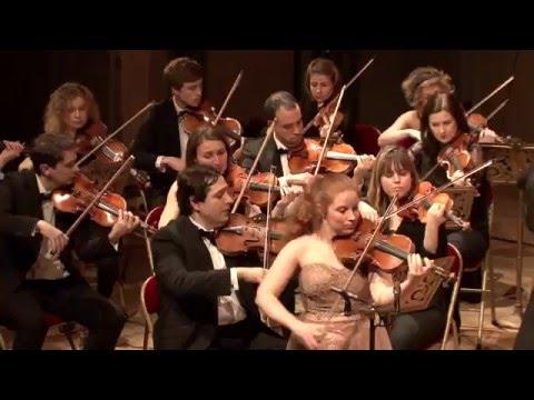 P.I. Tchaikovsky, Violin Concerto (1/3) Orchestre de l'Alliance - Pejman Memarzadeh Eléonore Darmon