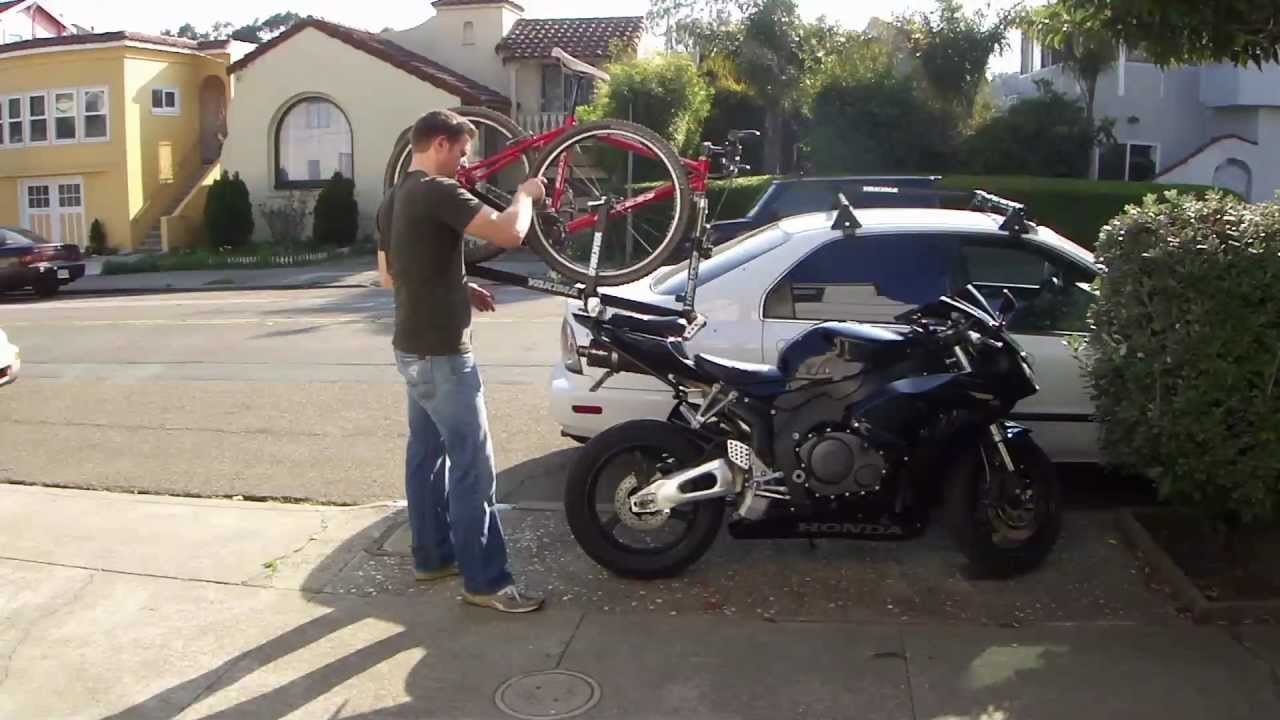 MotoBikeMount: How I Mounted My Bicycle On My Honda ...