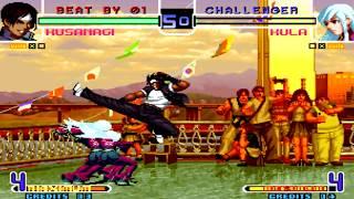 [TAS] KOF 2002 Magic Plus II - Single Matches