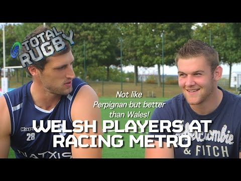 Wales in Paris: How the Welsh internationals are settling at Racing Metro