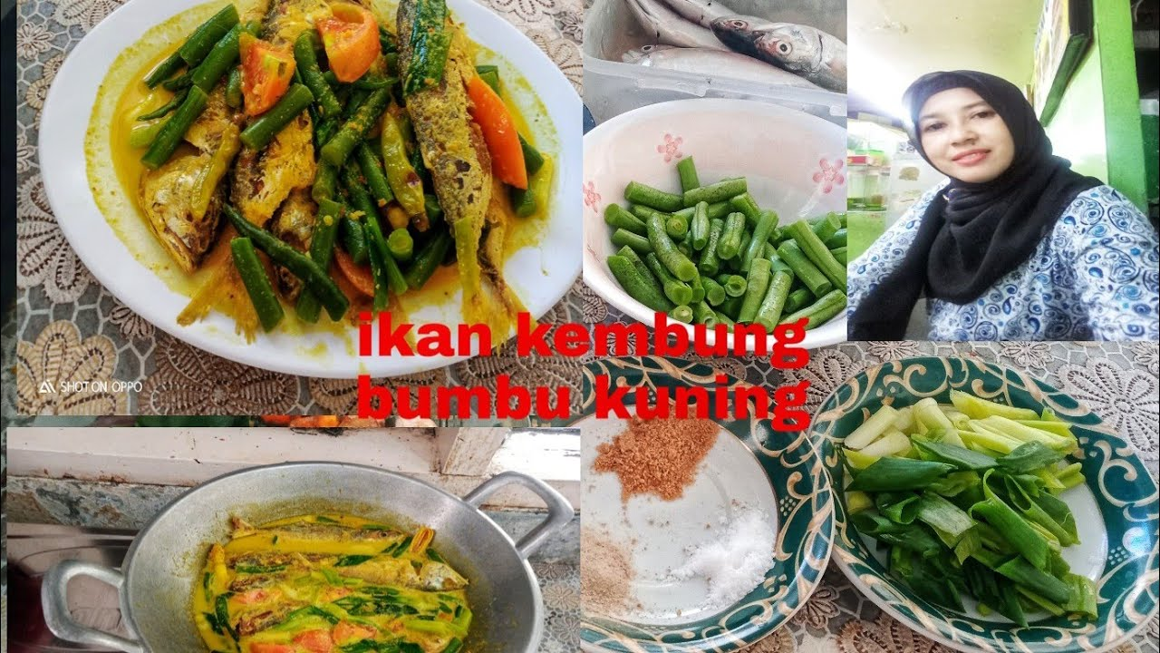 Resep masak ikan kembung, buncis bumbu kuning (ala bunda ...