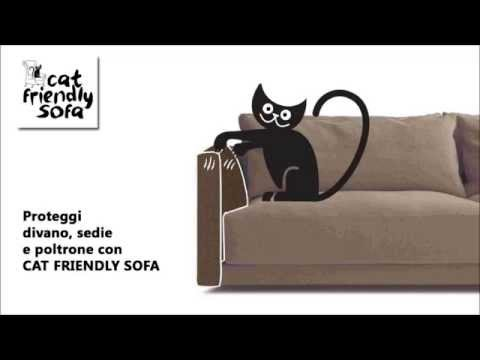 Cat Friendly Sofa  Protezione antigraffio per divani e poltrone  YouTube