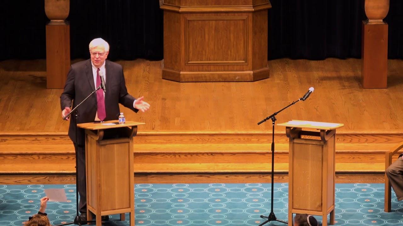 Dennis Prager and J-Street's Alan Elsner Debate Israel