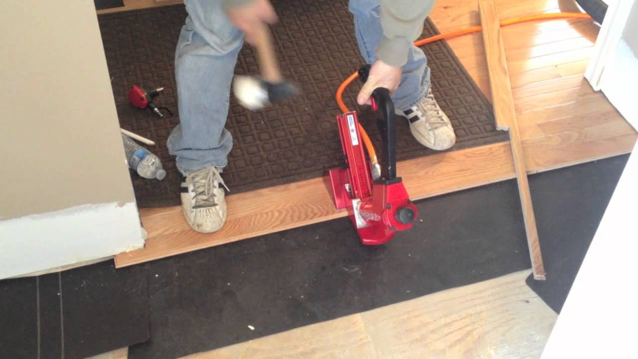 Pneumatic Nailer For Hardwood Floors