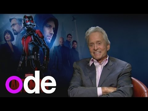 Michael Douglas and Michael Pena talk Ant-Man and farting in interviews