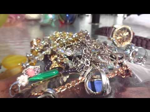 Video Games Silver Jewelry +. Flea Market Garage Yard Estate Sale Finds Pick-Ups - 6/13/15