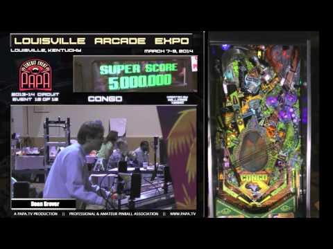 Louisville Arcade Expo 2014 Pinball Tournament