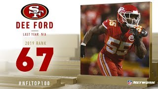 #67: Dee Ford (OLB, 49ers) | Top 100 Players of 2019 | NFL