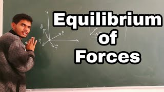 Equilibrium of Forces in Engineering Mechanics in Hindi by Nooruddin Khan | Numerical |Study Channel