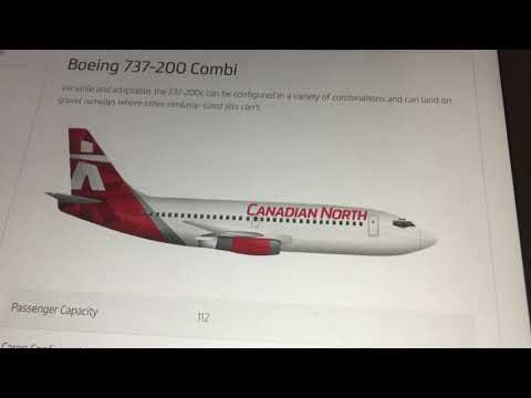 Canadian North Is Not Retiring Their 737-200s (Read Description)