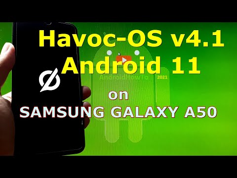 Havoc-OS v4.1 Android 11 Official for Samsung Galaxy A50 - Custom ROM