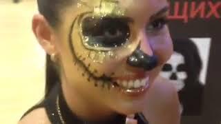 Красивый череп 💀 макияж на Хэллоуин