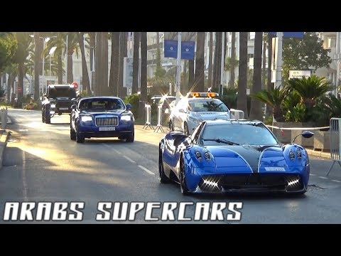ARABS SUPERCARS INVASION Cannes 2017 !