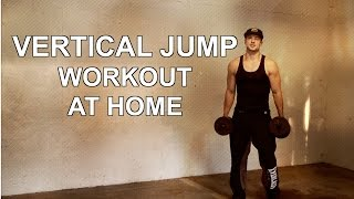"""Vertical Jump Workout At Home - INSTANTLY """"Jump Higher"""""""