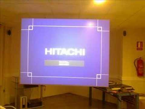 Instalacion de proyector con pantalla retroproyeccion for Pantalla para proyector