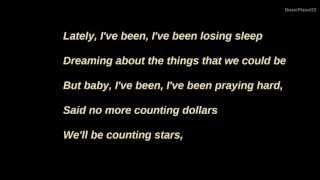 Counting Stars - OneRepublic Lyrics