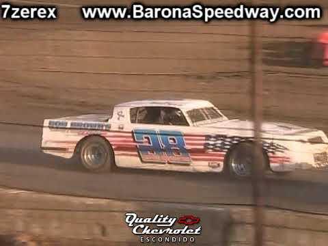 Street Stock Heat 1 Barona Speedway 9-9-2017