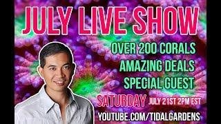 Tidal Gardens July 2018 Live Show thumbnail