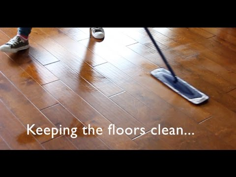 Keeping Hardwood Floors Clean | My Method & Favorite ProductsI