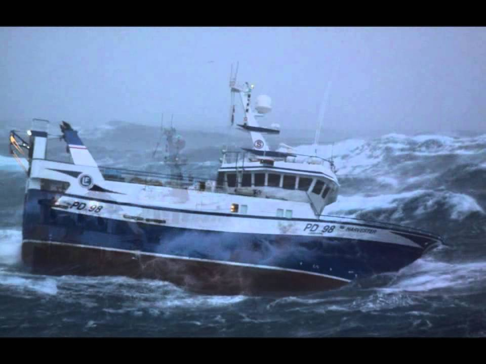 Terrifying images of fishing boat battered by 30ft waves for Deep sea fishing boats for sale