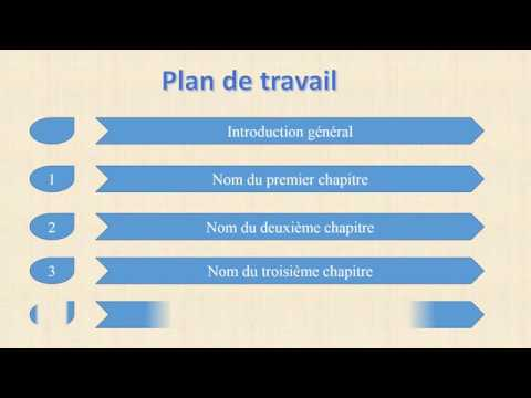 Presenter D Un Plan De Travail Anime Sur Powerpoint Animation Sur