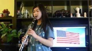 The Star Spangled Banner Clarinet (USA National Anthem) - With Notes
