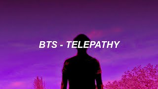BTS (방탄소년단) 'Telepathy' Easy Lyrics
